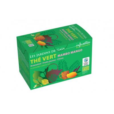 MAMBO MANGO ovoce s citrusem - zelený čaj